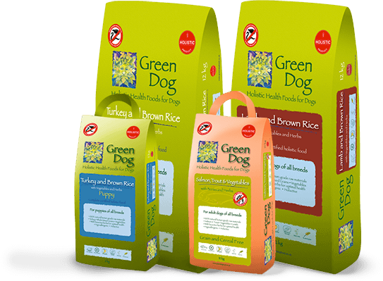 Green Dog Food Products