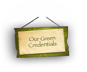 Our Green Credentials